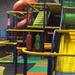 bottom of yellow slide